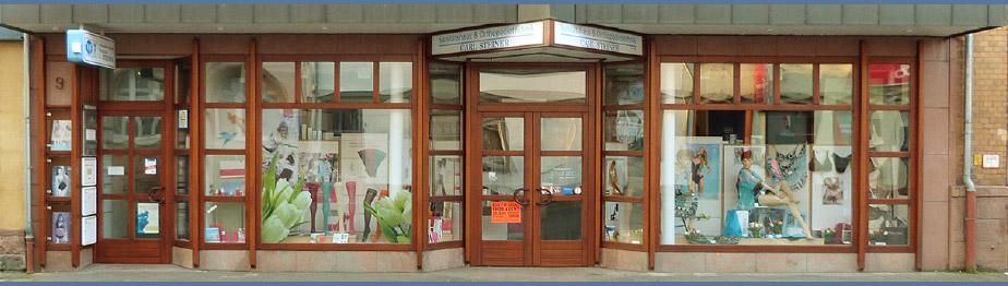 Sanitätshaus Steiner Fassade